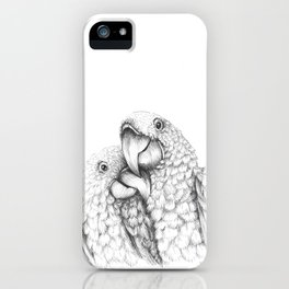 Macaw Pair In Love iPhone Case