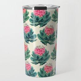 Protea flower garden Travel Mug