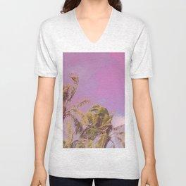 Swaying Palm Trees Unisex V-Neck