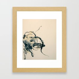 Organized Pour Framed Art Print
