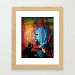 WEB Du Bois Framed Art Print