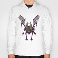 dark souls Hoodies featuring Gaping Dragon (Dark Souls) by Strange things collection