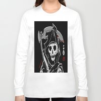 sons of anarchy Long Sleeve T-shirts featuring Sons Of Anarchy (Reaper) by ItalianRicanArt