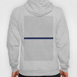 Contemporary modern navy blue off white geometrical Hoody