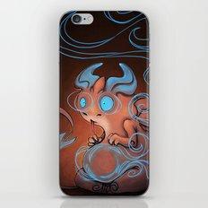 Blue dragon iPhone & iPod Skin