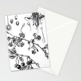 Botanical #CHERRIES Stationery Cards