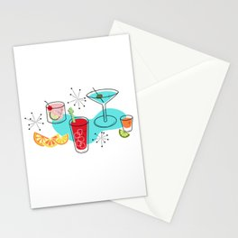 Cabo Cocktails Stationery Cards