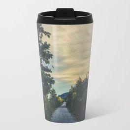 Sunset road Travel Mug