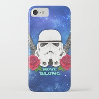 stormtrooper iPhone & iPod Cases featuring Stormtrooper by Larissa