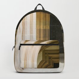 Arched entrance to a door Backpack