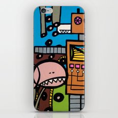 the TRAIN has LEFT THE STATION iPhone & iPod Skin