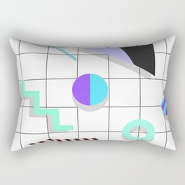 Memphis Things Rectangular Pillow