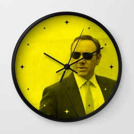 Kevin Spacey - Celebrity (Florescent Color Technique) Wall Clock