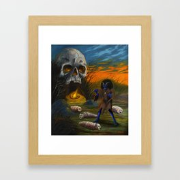 Night Hag Framed Art Print