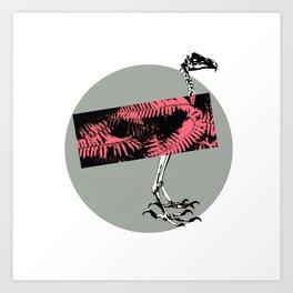 X RAY Art Print