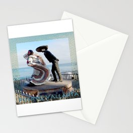 Puerto Vallarta, Mexico Sculpture by the Sea Stationery Cards