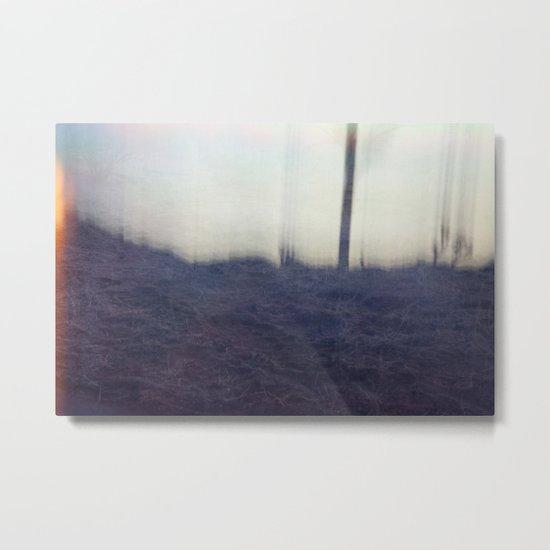 Slip II Metal Print
