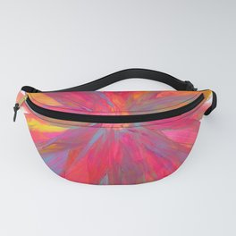 Rainbow Abstract Color Explosion Fanny Pack