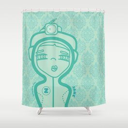 JANE (duvet) Shower Curtain