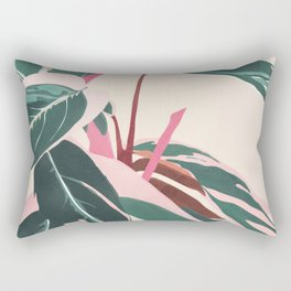 Stromanthe Sanquinea Rectangular Pillow