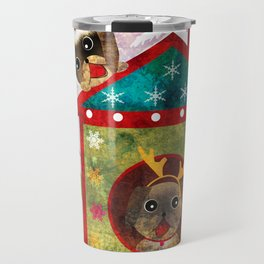 It's a fun holiday... the New year. Travel Mug
