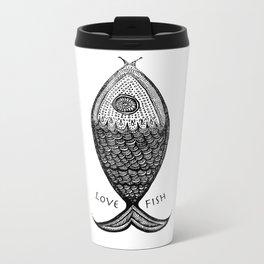 LoveFish Metal Travel Mug