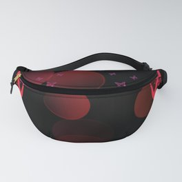 Butterfly Monarch Design Fanny Pack
