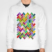 monogram Hoodies featuring F Monogram by mailboxdisco
