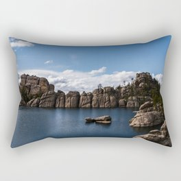 Sylvan Lake, South Dakota Rectangular Pillow