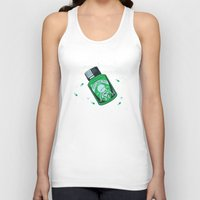 medicine Tank Tops featuring Marvin's Medicine by Thomas Hy
