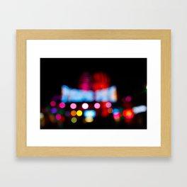 Santa Monica Pier Framed Art Print