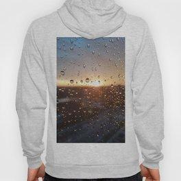 Raindrops sunset Hoody
