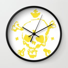 XXX Skull Wall Clock
