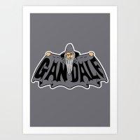 gandalf Art Prints featuring Gandalf by Buby87