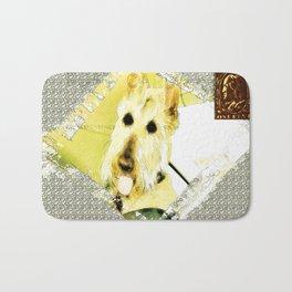 Wheaten Scottish Terrier - During Sickness and Health Bath Mat
