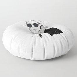 That Girl Floor Pillow