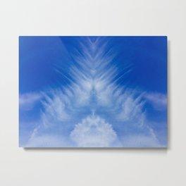 Nuvole Di Piume Metal Print