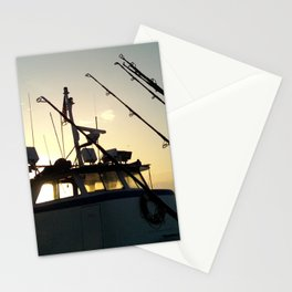 Fishing At Dawn Stationery Cards
