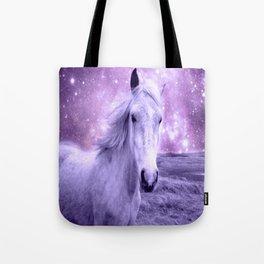 Lavender Horse Celestial Dreams Tote Bag