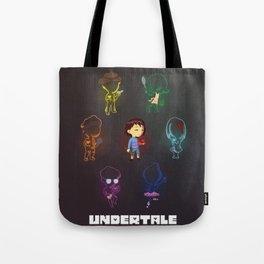 Undertale Souls Tote Bag