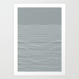 Unstable Lines Art Print