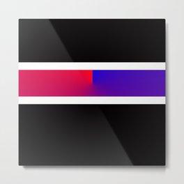 Team Colors 3,,,red blue Metal Print