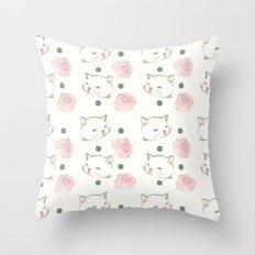 Cat's Waltz 고양이 왈츠 Throw Pillow