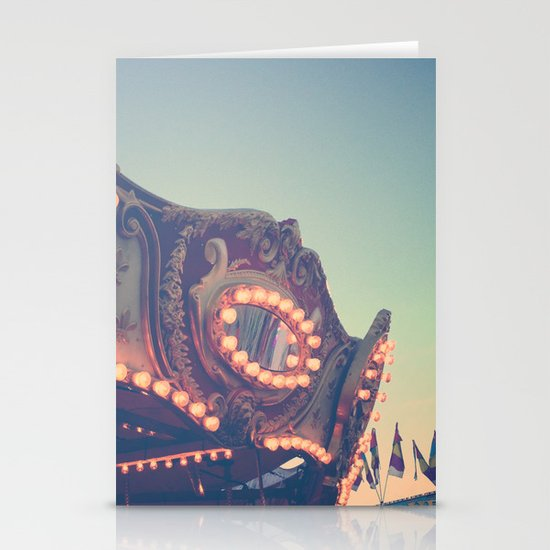 Twilight Carnival Ride Stationery Cards