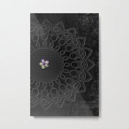 Emboss   To Mold Metal Print
