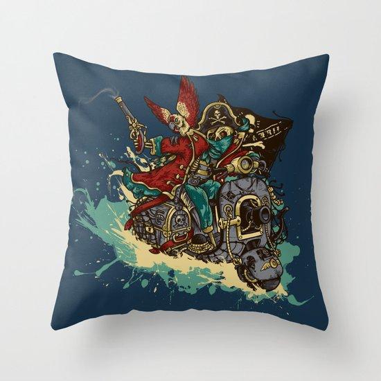 Sea Traveler Throw Pillow