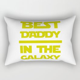 Best Daddy In The Galaxy Rectangular Pillow