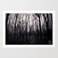 Blackwoods Art Print