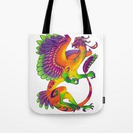 Oaxacan Barn Owl Dragon Tote Bag