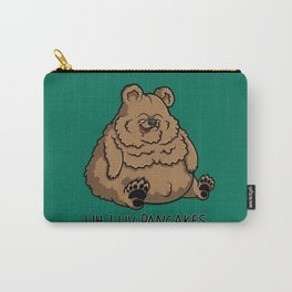 Pancake-Eating Bear Carry-All Pouch
